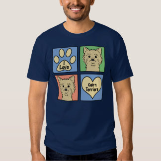I Love Cairn Terriers T Shirts