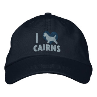 I Love Cairns Embroidered Hat (Blue)