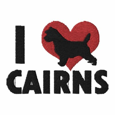I Love Cairns Embroidered Shirt (Long Sleeve)