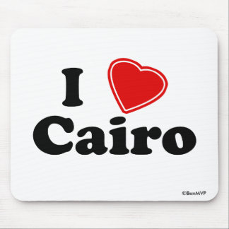 I Love Cairo Mouse Pad