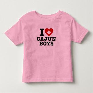 I Love Cajun Boys Toddler T-shirt