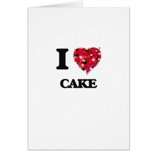 I love Cake Card