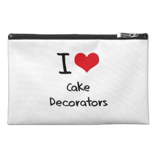 I love Cake Decorators Travel Accessories Bags