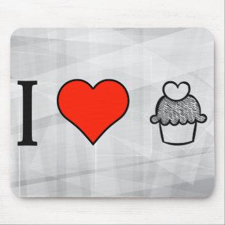 I Love Cake Designs Mouse Pad