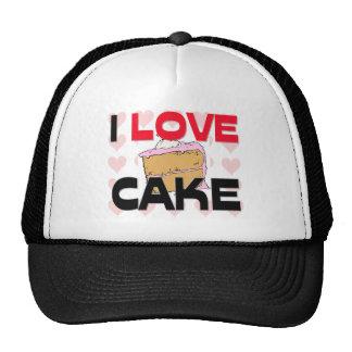 I Love Cake Trucker Hats