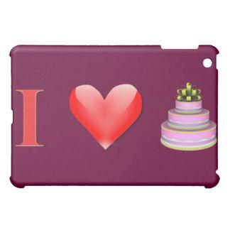 I Love Cake iPad Mini Cover