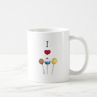 I love cake pops coffee mug