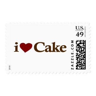 I Love Cake Stamp