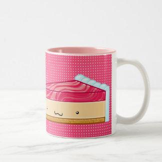 I love cake Two-Tone coffee mug