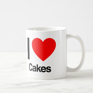 i love cakes coffee mug