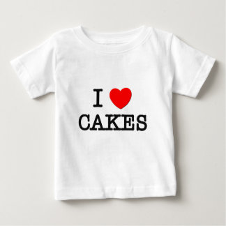 I Love CAKES ( food ) Tee Shirts