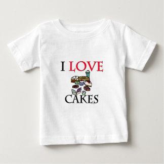 I Love Cakes T Shirt