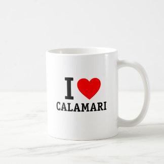 I Love Calamari Coffee Mug