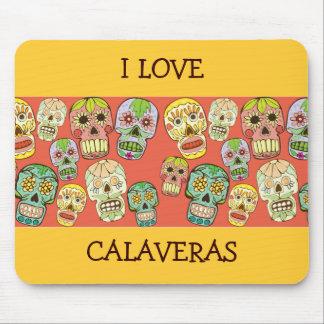 I Love Calaveras Mousepad