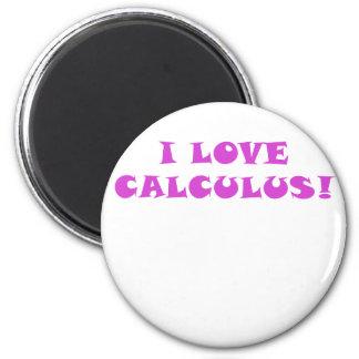I Love Calculus Magnet