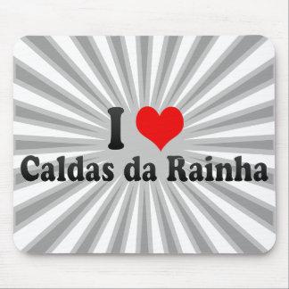 I Love Caldas da Rainha, Portugal Mouse Pad