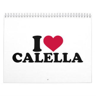 I love Calella Calendar