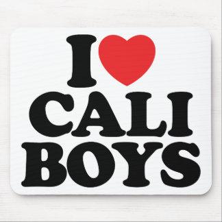 I Love Cali Boys Mouse Pad