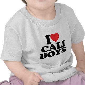 I Love Cali Boys Shirt