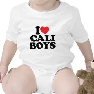 I Love Cali Boys Tee Shirt