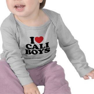 I Love Cali Boys Tshirts