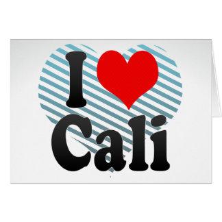 I Love Cali, Colombia Card