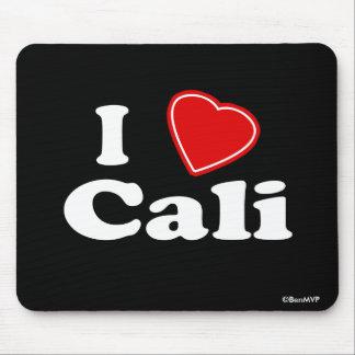 I Love Cali Mousepads