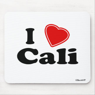 I Love Cali Mouse Pad