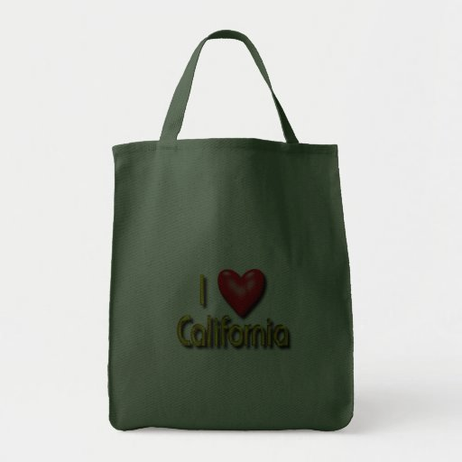 I Love California Bag