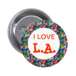 I LOVE CALIFORNIA BUTTONS