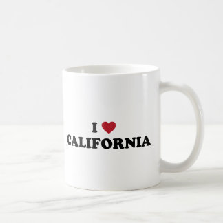 I Love California Coffee Mug