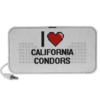 I love California Condors Digital Design Speaker