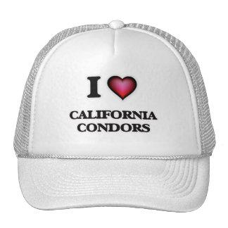 I Love California Condors Trucker Hat