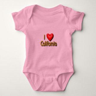 I Love California Infant Creeper