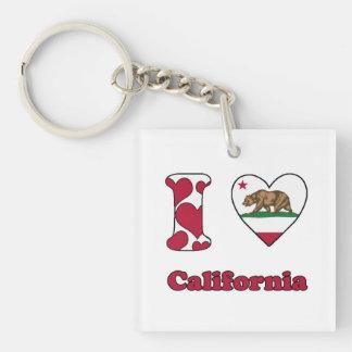 I love California Keychain