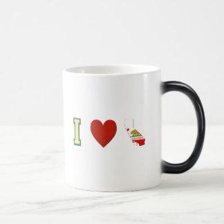 I Love California Magic Mug