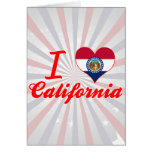 I Love California, Missouri Cards