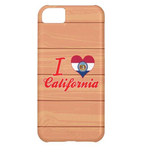 I Love California, Missouri iPhone 5C Cases