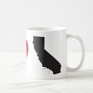 I Love California Classic White Coffee Mug