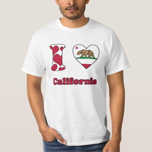 I love California Playera