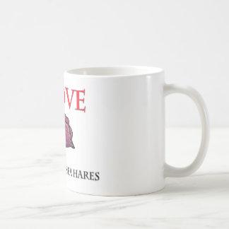 I Love California Sea Hares Classic White Coffee Mug
