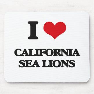 I love California Sea Lions Mouse Pad