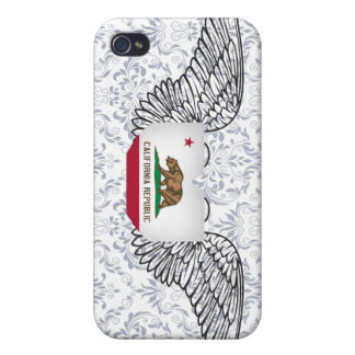 I Love California -wings iPhone 4/4S Case