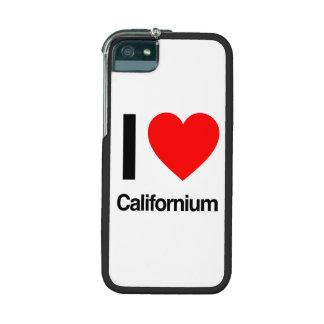 i love californium cover for iPhone 5