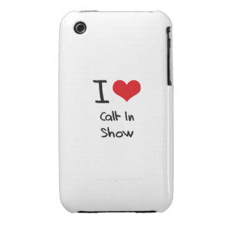 I love Call-In Show iPhone 3 Cases
