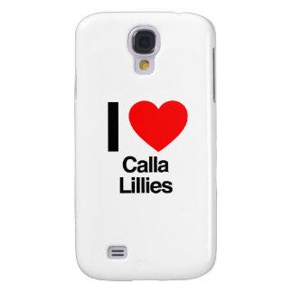 i love calla lillies galaxy s4 covers
