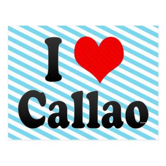 I Love Callao, Peru Postcard