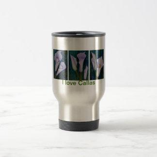 I love callas!!! travel mug