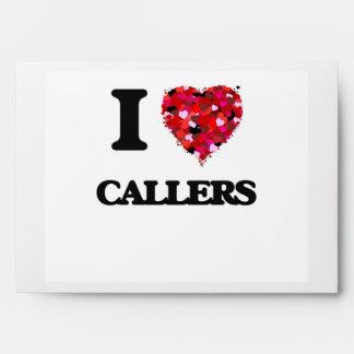 I love Callers Envelope