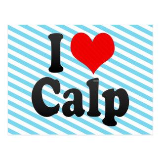 I Love Calp, Spain Postcard